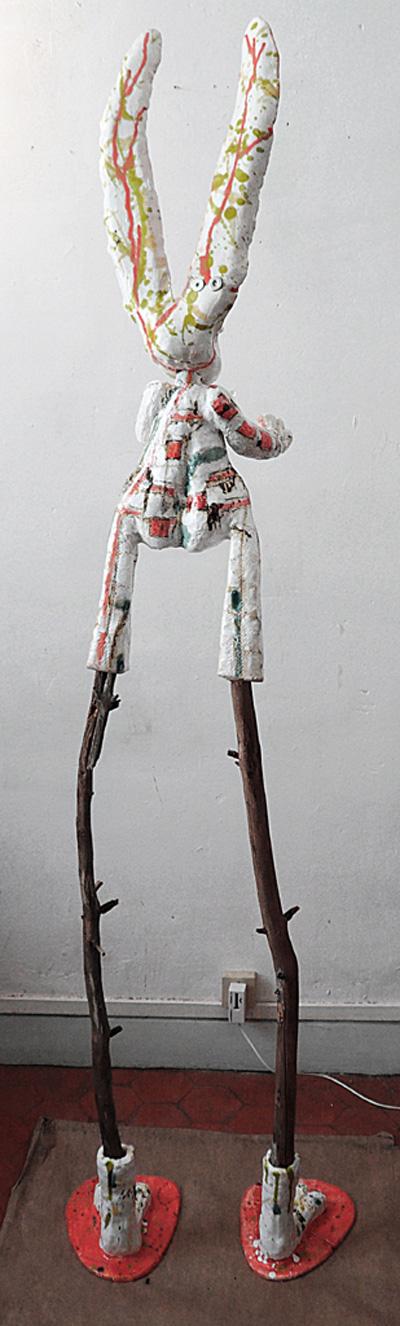 Denis BRUN - Neo-Folk Rebel Rabbit 1 - 2011