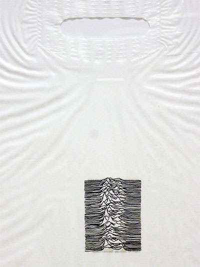Denis BRUN - Joy Division, Unknown Pleasures, 2007