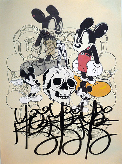 Denis BRUN - Black Angry Mouse 3 - 2015