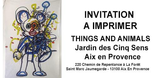 JARDIN DES CINQ SENS - INVITATION A IMPRIMER