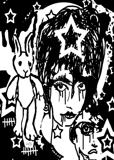 Denis BRUN - Punk Rabbit - 2005