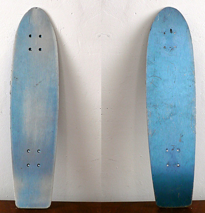Denis Brun - Aluminium Deck Blue  - 2011